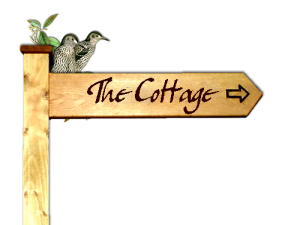 cottagewoodsign